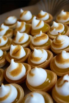Miniature Lemon Meringue Pies
