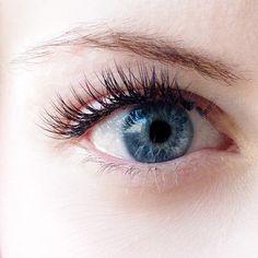 These eyelashes? Not mascara, and not genetic