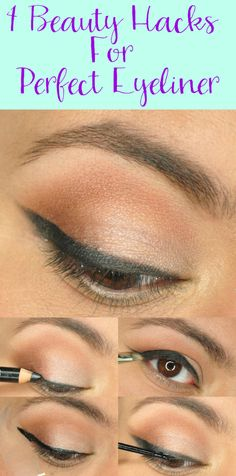 4 Beauty Hacks For Perfect Eyeliner - Painted Ladies