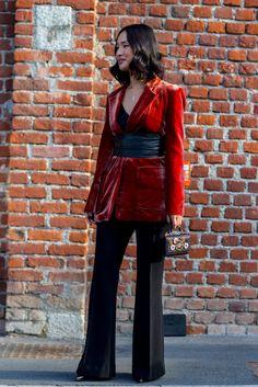 Best Street Style at Milan Fashion Week Fall 2017   POPSUGAR Fashion Photo 90