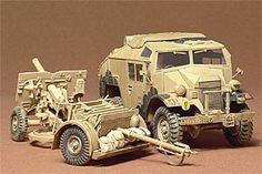 35044 1/35 BRITISH 25PDR GUN & QUAD TRACTOR