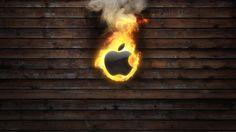 Apple Burning