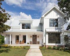 Farmhouse Two-Story Exterior Design