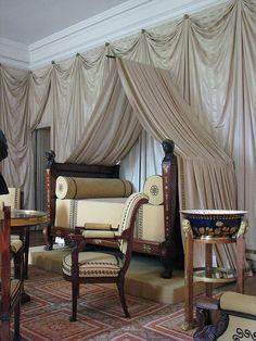 Chateau de Malmaison, Empire bedroom