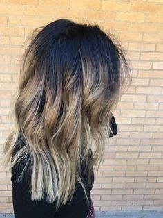Are you going to balayage hair for the first time and know nothing about this technique? We've gathered everything you need to know about balayage, check! Hair Color And Cut, Ombre Hair Color, Hair Color Balayage, Brunette Ombre Balayage, Dark Balayage, Short Balayage, Haircolor, Brunette Hair, Blonde Hair