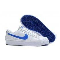 cheap for discount 2c454 6d548 Prix Raisonnable Nike Blazers Faible Femme Blanc Bleu-20 Nike Shoes Outlet,  Nike Shoes