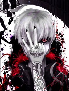 Kaneki + Tattoos by earthonmars