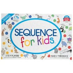 Sequence for Kids - we play this game in English or Chinese.  A game that you can used for your target language.