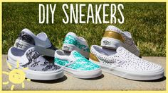 DIY Easy And Cute Sneakers Makeover