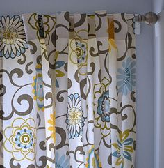 Great tutorial for pleated tab-top curtains. Ana White