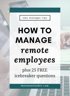 If you're a manager of a virtual team or virtual employee, you NEED this! Great leadership advice on how to be a good manager to remote employees. // The Talent Leader -- Leadership Coaching, Leadership Roles, Leadership Development, Life Coaching, Professional Development, Leadership Strategies, Leadership Qualities, Leadership Articles, Communication Skills