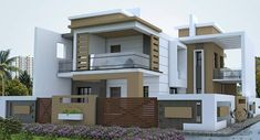 Home sweet home. Bungalow House Design, House Front Design, Cottage Design, Cool House Designs, Modern House Design, New House Plans, Modern House Plans, Morden House, 20x40 House Plans