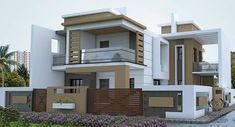 Bungalow House Design, House Front Design, Cottage Design, Cool House Designs, Modern House Design, New House Plans, Modern House Plans, Morden House, 20x40 House Plans