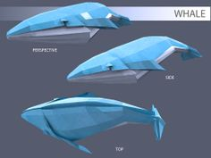 Origami - Whale
