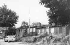 Arnhem: De Noodwoningen aan de Juniperusstraat 1964.