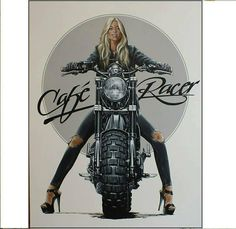 29 Ideas For Motorcycle Girl Illustration Biker Chick - PintoPin Motorcycle Camping, Motorcycle Shop, Scrambler Motorcycle, Motorcycle Design, Ninja Motorcycle, Honda Scrambler, Motorcycle Tips, Motorcycle Wheels, Motorcycle Quotes