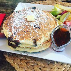#pancakes Tiramisu, Pancakes, Breakfast, Ethnic Recipes, Instagram Posts, Food, Morning Coffee, Crepes, Pancake