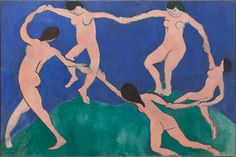 """moma: """"""""Modern art spreads joy around it by its color, which calms us."""" – Henri Matisse, born today in [Henri Matisse. Matisse Paintings, Matisse Art, Henri Matisse Dance, Art And Illustration, Museum Of Modern Art, Fine Art, Pablo Picasso, Picasso Blue, Art Design"""