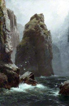 'CORNISH SOLITUDE' | James H.C. Millar     ✫ღ⊰n