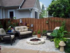 belgard pavers in backyard pictures | Fire Pits - How to Make a Fire Pit Burner