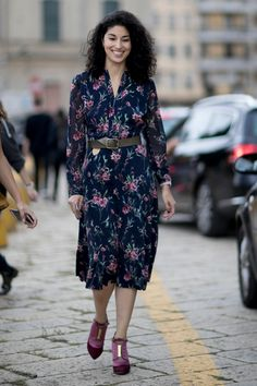 The Street Style at Milan Fashion Week May Be the Best Yet Day 1 Caroline Issa