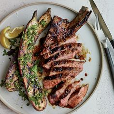 Grilled Pork Chops with Malt and Burnt Onion Glaze Recipe - Jim Christiansen Onion Recipes, Pork Chop Recipes, Wine Recipes, Fall Recipes, Glazed Pork Chops, Grilled Pork Chops, Marinated Pork, Grilled Meat, Pork Dishes