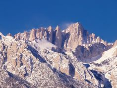 Mount Whitney from Lone Pine, CA by darthjenni, via Flickr