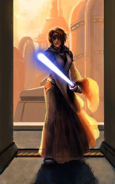 Kayrani Sha, SWTOR Jedi Consular by ~Tanqexe on deviantART