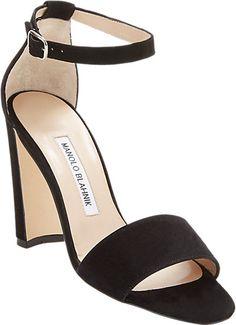 Manolo Blahnik Lauratopri Ankle-Strap Sandals - Sandals - Barneys.com