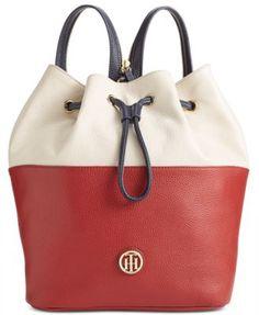 Tommy Hilfiger Summer of Love Medium Sling Backpack Handbags   Accessories  - Macy s 8645a81cb8684