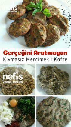 Meatballs Without Minced Meat Will Not Seek The Truth - Yummy Recipes - How to make a recipe that will not seek the truth of minced meatballs with lentils? Meat Recipes, Indian Food Recipes, Pasta Recipes, Vegetarian Recipes, Chicken Recipes, Casserole Recipes, Ethnic Recipes, Meatloaf Recipes, Good Food
