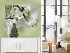 Kirschblüte das ganze Jahr über: http://www.cewe-fotobuch.at/produkte/wanddekoration/ #diy #wanddeko #flowers