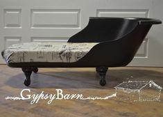 Clawfoot tub to Chaise Lounge - Gypsy Barn