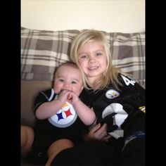 Even though everyone is hurt and they aren't playing well we are and will always be Steelers fans!!! My kids love them !