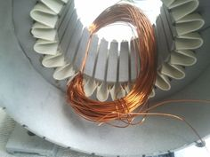 Rewinding and Renovation of the Electric Motor : 45 Steps (with Pictures) - Instructables Diy Electronics, Electronics Projects, Electrical Wiring Colours, Transformer Winding, Basic Electrical Engineering, Tesla Inventions, Electrical Circuit Diagram, Electrical Problems, Electrical Installation