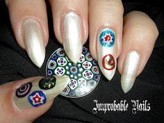 """Improbable Nails: """"Murrina"""" nails"""
