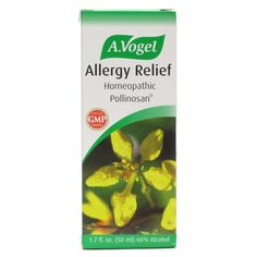#Clinical Studies Show an 88% Success Rate A.Vogel Allergy Relief Liquid Relieves Symptoms of: Hay Fever Sneezing and nasal congestion Sniffling Watery eyes Swollen lids Nasal sinus congestion Researched in the Netherlands This #homeopathic remedy was studied in the Netherlands.