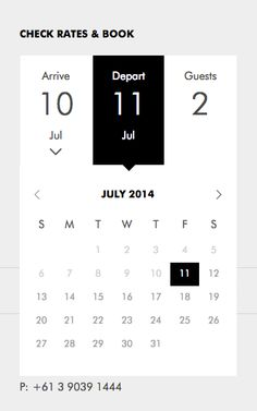 Calender from Art Series Hotels › PatternTap