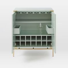 malone campaign bar cabinet lacquer west elm