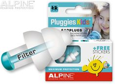 Alpine have developed comfortable, non-intrusive earplugs for children to help improve concentration, prevent hearing damage and to keep water out of the ear. Improve Concentration, Hearing Protection, Ear Plugs, Travel With Kids, Filters, Free, Personal Care, Children, Swimming
