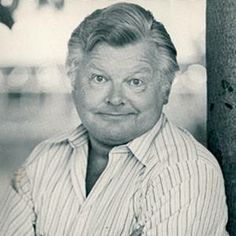 Benny Hill, British comedian