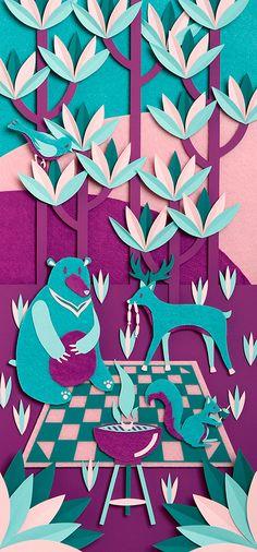 Heromosos #colores por Zim & Zou,morados y azules hacen una armonía hermosa.