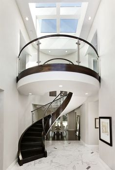 staircase by Mark English Architects