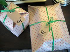 2.9.2013 BEAUTIFUL WRAPPING FOR MY BEAUTIFUL FRIEND: Happy Birthday Helia!! <3 You!