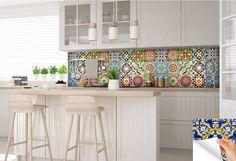 pegatinas de carrelage Español Set de 24 azulejos etiquetas