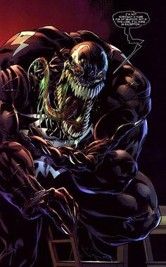 Venom...nom, nom...nommm #Marvel #comics #art