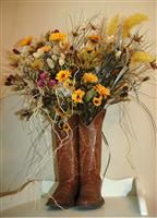 Image detail for -Cowboy Boots arrangement