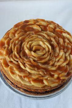 appel caramel cheesecake