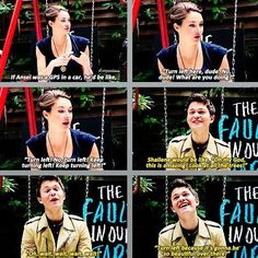 Shai & Ansel being interviewed by Polandbananasbooks. She's awesome. Only awesome people would know who she is!