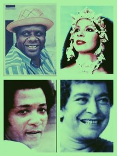 Candeia, Clara Nunes, Roberto Ribeiro e João Nogueira Samba, Black Is Beautiful, Musicals, Club, Singers